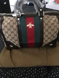 brown and black Gucci leather tote bag Fresno, 93723