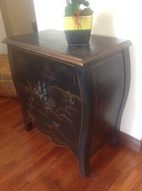 Hand painted ,wood cabinet . Los Angeles, 90025