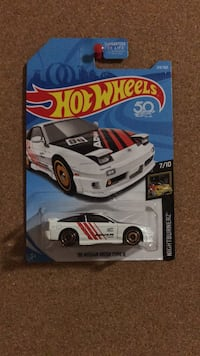 Nissan 180sx hot wheels diecast model  Vaughan, L6A