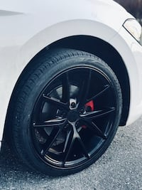 """Niche misano 18"""" wheels and tires Abbotsford"""