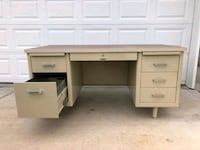 Vintage 1960's McDowell and Craig Tanker Desk