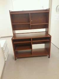 brown wooden desk with hutch Toronto, M6H