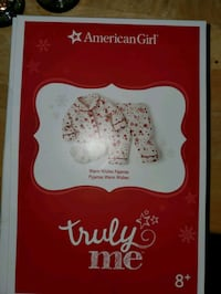 American girl warm wishes pajama for doll Appleton, 54915