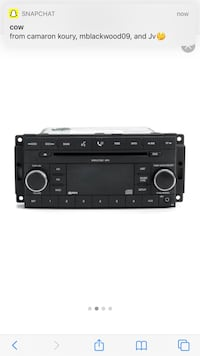 Jeep Compass Stock Radio