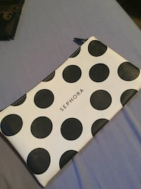 black and white polka dot print textile Winnipeg, R2C 4B7