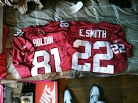2jerseys for 60$ for both an there barely worn  Pawtucket, 02860