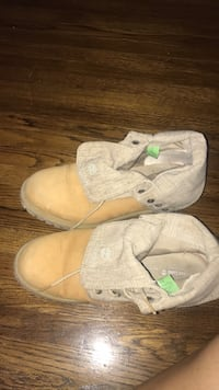 Timberlands only worn 1 winter size 9 Toronto, M9C 3S6