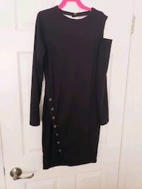 Sexy black dress small woman cloth NEW