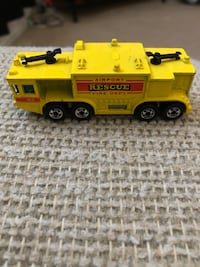 1979 hot wheels fire rescue truck