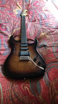 brown and black electric guitar Rockledge, 32955