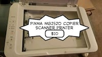 Pixma mg2520 copier scanner printer  Virginia Beach, 23452