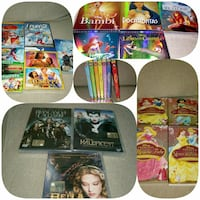 Dvd disney e atri 10€ al pezz,in blocco 120€ San Martino in Strada, 26817