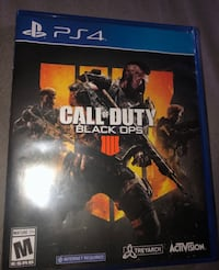 PS4 GAME -call of duty 4-taking trades too Inglewood, 90304