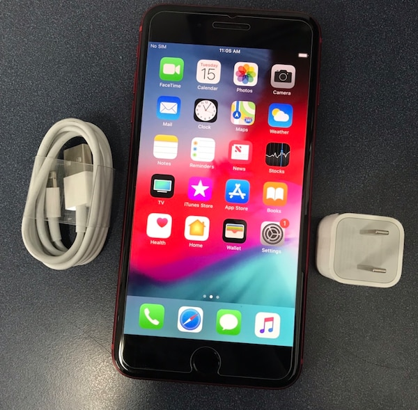 2d95cbe73af Used 64Gb RED iPhone 8 Plus(8+) - Factory Unlocked. for sale in New York -  letgo