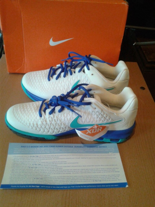 sports shoes 04151 84722 Used Nike Air Max Cage Women s Tennis Shoes Brand new for sale in San  Francisco