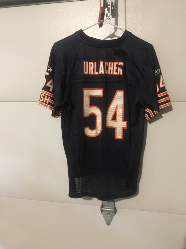 online retailer 87cf8 29469 NFL authentic youth Large Chicago Bears #54 Brian Urlacher Jersey