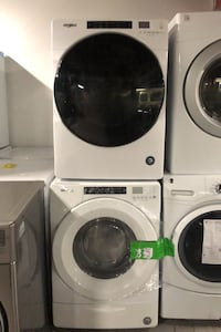 Washer and dryer set