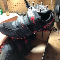 Clipless bike shoes and pedals Bessemer, 35022