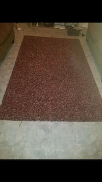 brown and white area rug Mission, 78572