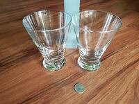 two clear drinking glasses Hillsboro