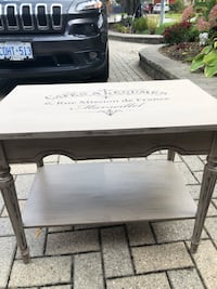 white and black wooden table Welland, L3C 6A2