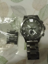 ocil 251305 Nate Chronograph Smoke Stainless Steel Watch contact with best offer accepted Toronto