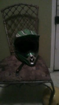 black and green helmet trade or selling