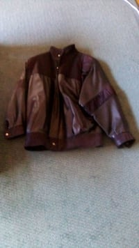 Women's lined  sweade letter jacket Toronto, M3H 5N3