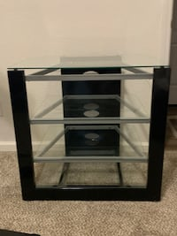 Glass Entertainment Center