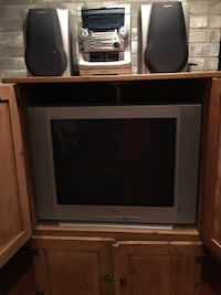 Complete Entertainment Center with 2 TV's, stereo, DVD, Wii Weslaco, 78599