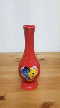 Winnie the Pooh Valentines Day heart vase Langley, V3A 7T8