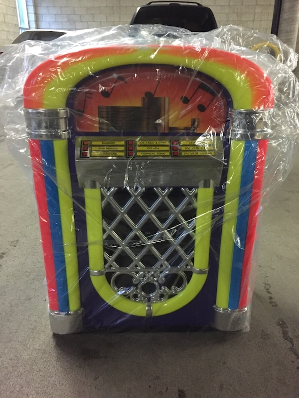 Brand New Rare Paul Flum Vintage Jukebox Cooler/Icechest