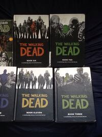 four The Walking Dead book collections Halifax, B4C 2P7