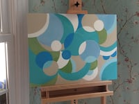 Painting. acrylic  on board Chesterfield, 23838