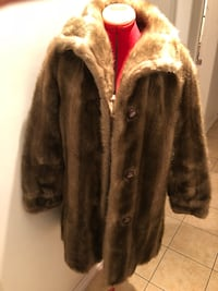 Vintage 60s faux fur coat women's jacket Toronto, M6J 3K4