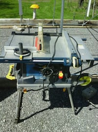 Table saw portable mastercraft Hastings County, K0K