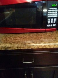 red and black microwave oven Fayetteville, 28314