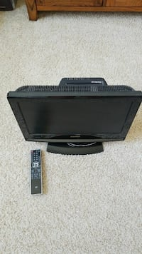 black flat screen monitor with remote Richland, 99352