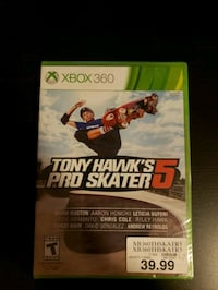 Tony Hawk Pro Skater 5 - NEW XBOX 360 New York, 10036