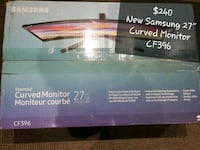 """New Samsung 27"""" LED Curved Monitor CF396 Vaughan, L4L 8K5"""