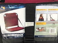 Bleacher back chairs (2) Tampa, 33621