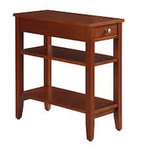 Convenience Concepts American Heritage Three Tier End Table with Drawer (New in Box) Fort Wayne