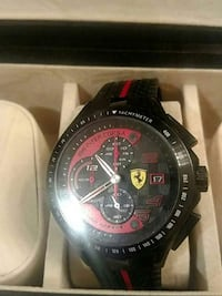 black and red chronograph watch Gulf Breeze, 32563