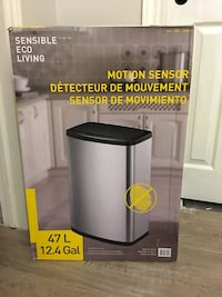 Brand New - Motion Sensor Garbage Can
