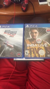 Console Game. NFs 30 && Nba Live $10 never opened