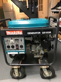 Makita Generator G6100R like new used on 2015 for like10 Days and no used any more (Brand new condition) Waterbury, 06705