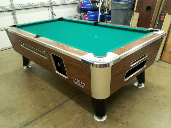 Used Valley Bar Box Coin Pool Table For Sale In Muskogee Letgo - Valley bar box pool table