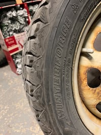 Winter tires in great condition 185/60 r15 Bradford West Gwillimbury, L3Z 3E9