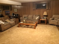 3 pc couch set Silver Spring
