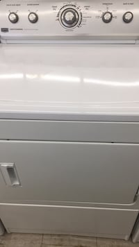 white front-load clothes dryer 374 mi